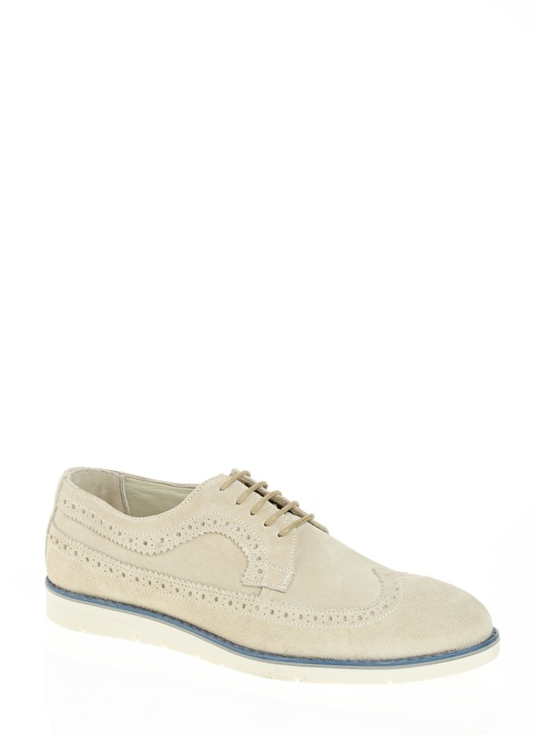 D by Divarese Oxford Ayakkabı Beyaz